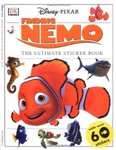 Disney Finding Dory Sticker Paradise Activité Pack photo feuilles album Nemo