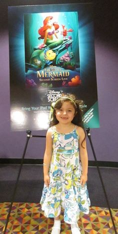 The Little Mermaid Second Screen Live: An Unforgettable Experience for Arielle Fans (and their Moms!) - http://www.themamamaven.com/2013/09/24/little-mermaid/ @Disney #TheLittleMermaid