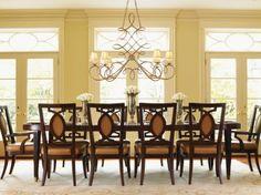 11-pc St. Tropez Divonne Oval Dining Table Set-Lexington Furniture