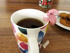 Un attache thé lapin #2