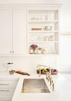 Loving this tile | Kitchen Remodel via Remodelista