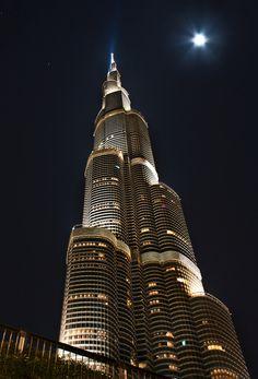 "/ Photo ""Burj Khalifa"" by Jaroslava Melicharová Dubai Architecture, Beautiful Architecture, Creative Architecture, Dubai Vacation, Dubai Travel, Dubai Video, Dubai City, Night Aesthetic, Amazing Buildings"