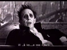 """Read more: https://www.luerzersarchive.com/en/magazine/commercial-detail/freia-chocolate-23734.html Freia Chocolate """"Wampire"""" [00:30]# Filmed in a style reminiscent of Ed Wood´s horror flicks, this commercial hows a vampire awakening in his coffin. He starts waxing lyrical about the night when we notice that all the """"Ms"""" are missing from his speech. (""""It´s idnight and the moon is up,"""" he says.)This speech defect is easily cured by ingesting a pack of """"M"""" chocolates. Tags: Kitchen…"""