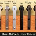 No doubt you may have read about a new style of hardware called barn door hardware, also known as flat track hardware. Double Sliding Barn Doors, Wooden Sliding Doors, Sliding Barn Door Hardware, Door Hinges, Door Latch, Old Door Decor, Barn Door Closet, Rustic Hardware, Front Door Signs