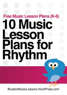 10 Music Lesson Plans for Rhythm - Check out this fantastic collection of 10 free music lesson plans for rhythm for the elementary music classroom. Each one isa fully-scripted lesson that teachers can use as is, or modify to meet their needs. Preschool Music Lessons, Elementary Music Lessons, Music Lessons For Kids, Music Lesson Plans, Preschool Lesson Plans, Music Activities, Teaching Music, Piano Lessons, Learning Piano