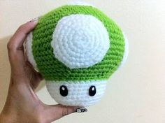 Big Mushroom Amigurumi (With free pattern!) - CROCHET