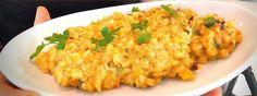 Arroz con mejillones y patatas