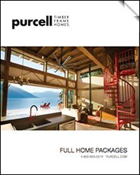 Purcell Timber Frame Homes - Modern Home Packages and Prefab Homes