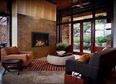 Mendota Fullview Décor Gas Fireplace #fireplace #gasfireplace