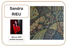 Art aborigène Sandra R en MS