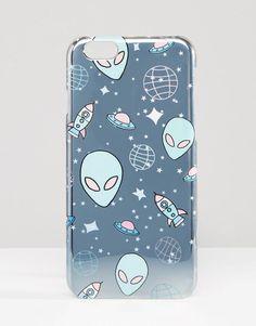 Image 1 - ASOS - Coque motif extraterrestre effet hologramme pour iPhone 6 et 6s