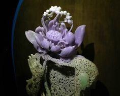 Jadeite Artist Yu FengYe Imperial Jade, Chinese Art, Buddha, Jewelery, Rocks, Lavender, Arts And Crafts, Carving, Gemstones