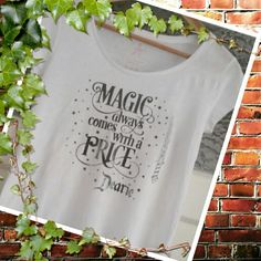 Magic dearie! Shirt for me. Love Once Upon a Time!