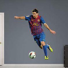 Lionel Messi - Forward Fathead Wall Decal