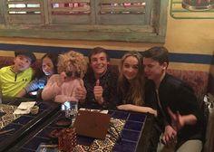 "Photo: Jet Jurgensmeyer With ""Further Adventures In Babysitting"" Co-Stars Sabrina Carpenter"