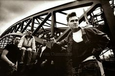 Morrissey and the band