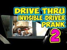Ghost Car At Drive-Thru #Prank - #funny