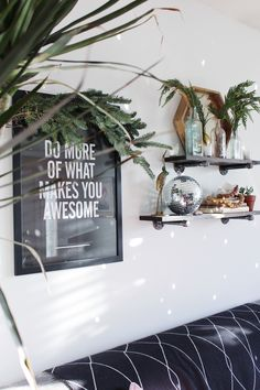 Do more of what makes you awesome! Celebrating National Disco Ball Day! Wall art from Home Goods. (Sponsored)