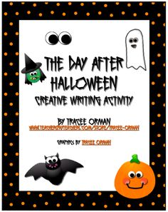Classroom Freebies: The Day After Halloween Activity...