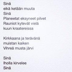 päivän runo 17.7.2014 - vieraileva runoilija