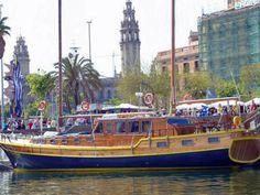 La goleta Yasanti, un hotel flotante en Arenys de Mar (Barcelona).