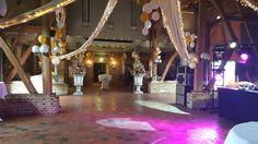 Onze Romezaal is klaar voor het gala van het @Grotiuscollege bij #Winselerhof. Laat de gasten maar komen.