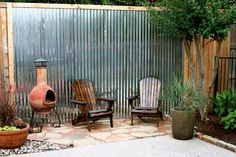 Stained chairs for the backyard. #patio #backyard