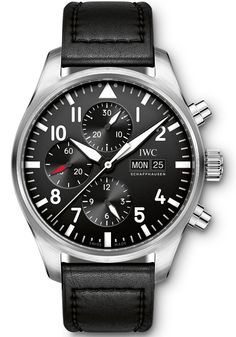 Master Horologer: IWC Schaffhausen - Big Pilot's Watch (Ref. IW500912) & Pilot's Watch Chronograph (Ref. IW377709 & IW377710)