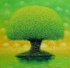 легкость бытия и утонченность в картинах вьетнамского художника Vu Cong Dien