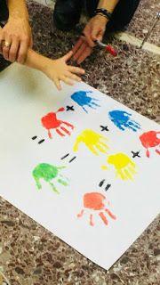 Έλα να παίξουμε...στο Νηπιαγωγείο!!!: Χρώματα: 1. Παίζουμε τα χρώματα 2. Άσπρο μαύρο 3. Μείξη χρωμάτων 4. Θερμά χρώματα 5. Κατασκευή Έλμερ Color Secundario, Kindergarten, Crafts For Kids, Dots, Activities, Color Activities, Kinder Garden, Crafts For Toddlers, Stitches