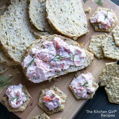 Smoked Salmon Spread with Greek Yogurt and Fresh Dill