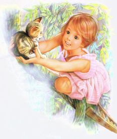 """Photo from album """"МОЯ АНИМАЦИЯ"""" on Yandex. Sarah Kay, Cartoon Girl Images, Cartoon Pics, Pretty Pictures, Art Pictures, Cute Good Morning Quotes, Little Marcel, Art Easel, Chica Anime Manga"""