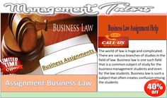 The Management Tutors is a reliable and  greatly #Assignment_business_law, celebrated academic portal that offers #Business_assignments,services and  #Business_writing_assignments,solutions         click here http://www.managementtutors.com/Business-Assignment-Help