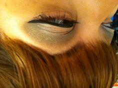 Smokey winged eye