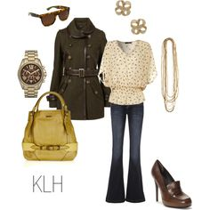 brown, created by karilynne.polyvore.com