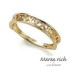 Pearl Ring Perle Und Smaragde Gelbgold Vintage 100% Original