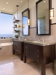 Vanity With Shelves Bathroom Design, Pictures, Remodel, Decor and Ideas