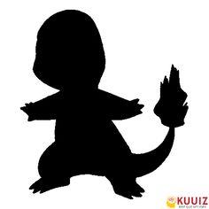 Guess Who's That Pokémon based on the silhouette image. Pokemon Craft, Pokemon Party, Pokemon Birthday, Pokemon Pumpkin Stencils, Scary Pumpkin Carving, Pumpkin Carvings, Pumpkin Template, Pokemon Charmander, Pokemon Tattoo