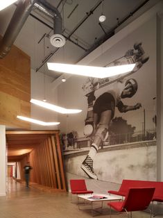 VANS world headquarters designed by Rapt Studio in a vacant electronics warehouse in Orange County, CA   #saltstudionyc
