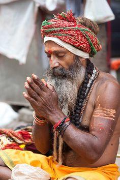 Spiritual Sadhu Baba (by lauratalcual)