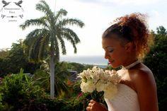 Wildflower Jamaica destination wedding bouquet by award winning, all inclusive boutique destination wedding venue Hummingbird Hall Jamaica.