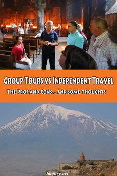 Group Tours vs Independent Travel. The Pros and Cons… and some thoughts. #bbqboy #tours #indepdendenttravel