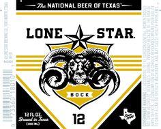 Lone Star Bock, love this label!