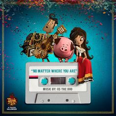 The new song by Us The Duo on The Book of Life soundtrack won't let you go, no matter where you are! http://fox.co/TBOLNoMatterWhere