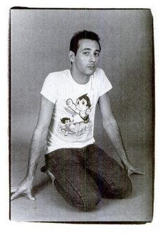 For your consideration: Paul Reubens (Pee-Wee Herman) with an Astro Boy shirt.