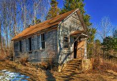 Varvel One-Room Country School House by Uncle Phooey, via Flickr