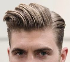Mens Hairstyles Side Part, Men's Hairstyles, Side Parting, Fresh Cuts, Stylish, Hair Styles, Men Hair Cuts, Male Hairstyles, Hairstyles