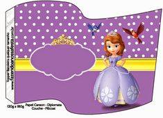 Sofia the First: Free Party Printables and Images.