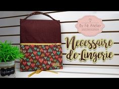 YouTube Porta Lingerie, Pattern Making, Couture, Diy And Crafts, Manicure, Patches, Pouch, Make It Yourself, Quilts
