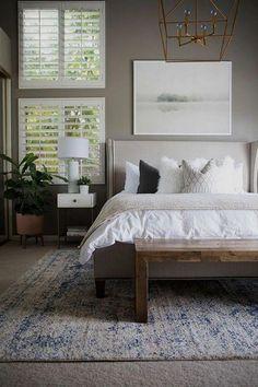 Trendy Bedroom, Cozy Bedroom, Home Decor Bedroom, Bedroom Furniture, Bedroom Ideas, Bedroom Bed, Bedroom Small, Bedroom Wardrobe, Furniture Design